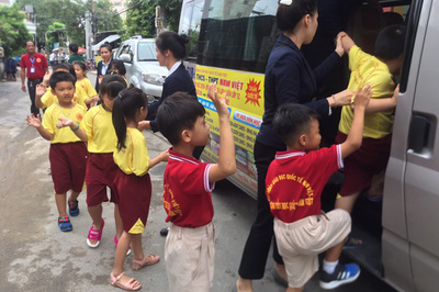 Trường Quốc tế Nam Việt dùng công nghệ để bảo đảm an toàn học sinh