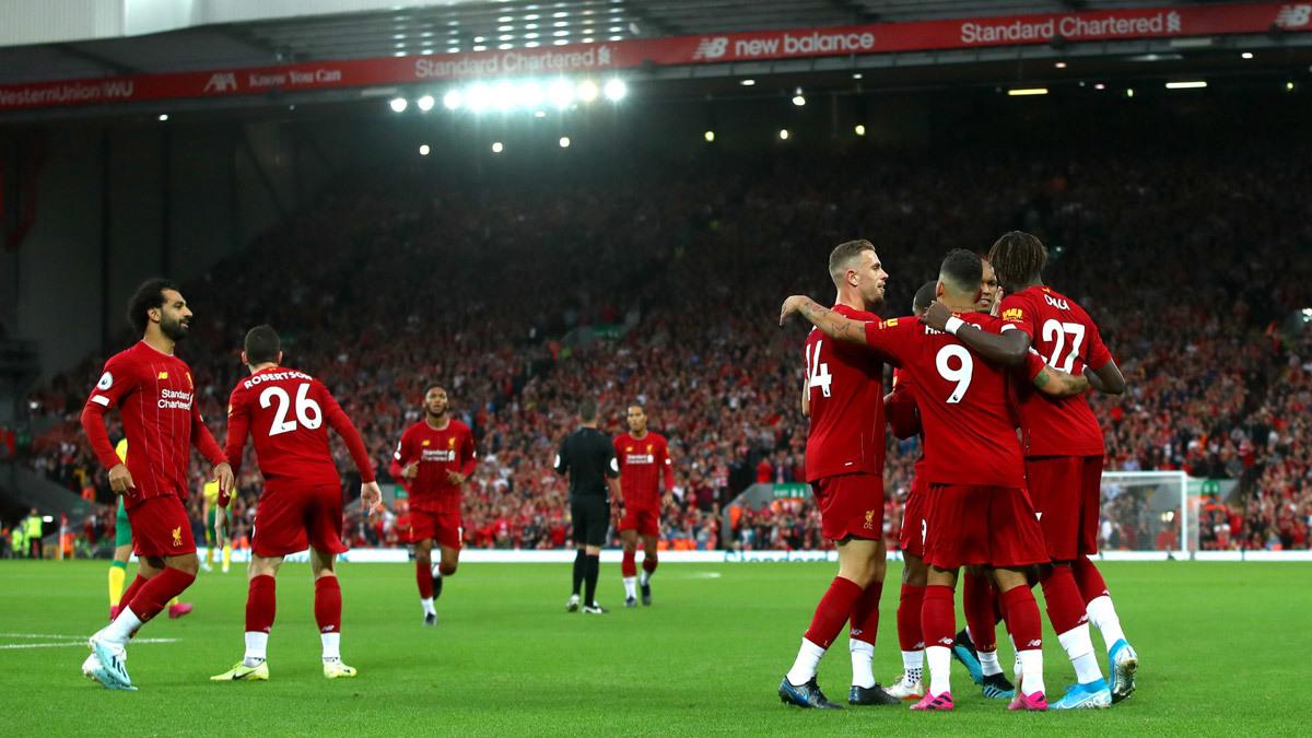 Liverpool,Norwich,Mohamed Salah,Jurgen Klopp