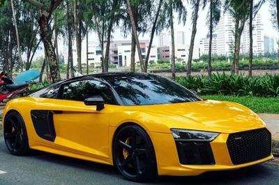 """Cưới vợ xong, Cường Đô La """"gả"""" siêu xe Audi cho người khác"""