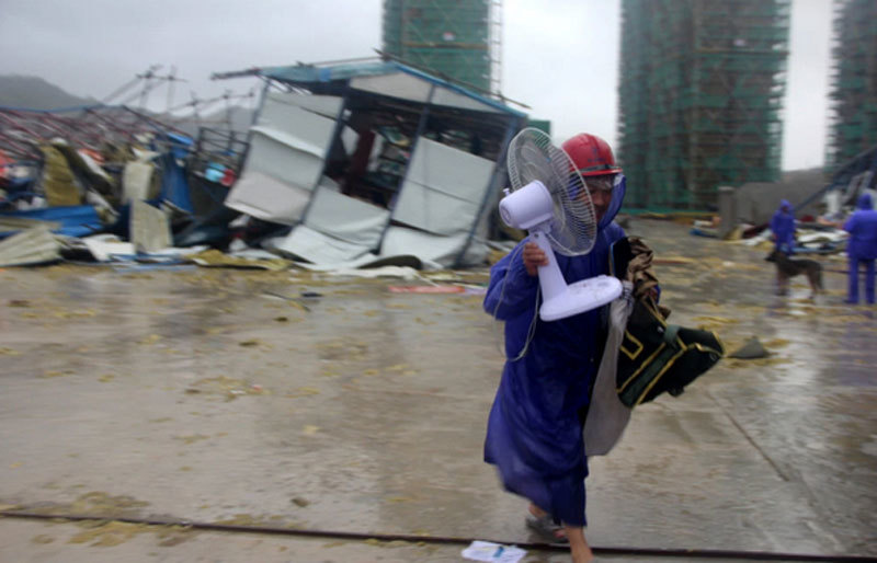 Bão Lekima tấn công TQ, hàng chục người chết và bị thương