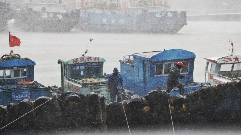 Bão Lekima,Trung Quốc,siêu bão