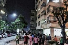Bà nội trèo ban công tầng 16 chung cư HN sang với cháu, trượt chân rơi tử vong