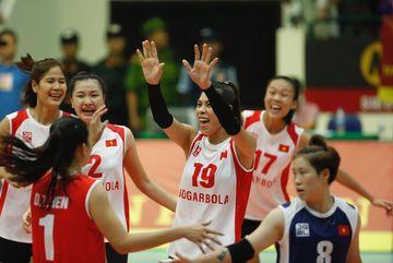 Tuyển bóng chuyền nữ Việt Nam về nhì ở VTV Cup 2019