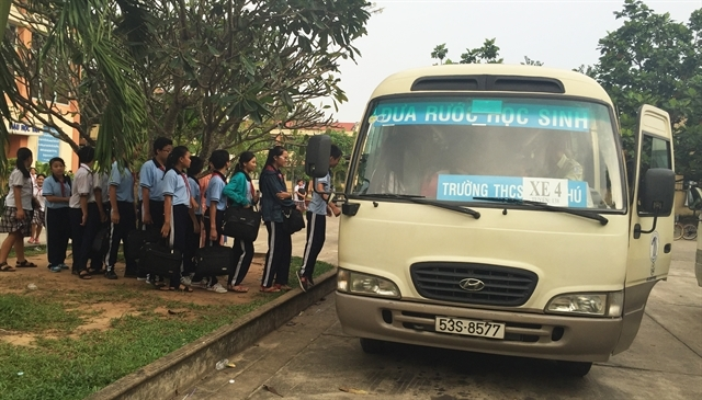 Schools told to ensure safety of students on buses,social news,english news,Vietnam news,vietnamnet news,Vietnam latest news