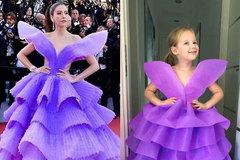 Bé gái 5 tuổi 'gây bão' với bộ ảnh cosplay sao nổi tiếng đi sự kiện