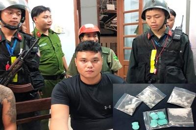 Nam sinh viên mua ma túy chưa kịp 'bay' thì bị công an Đà Nẵng bắt