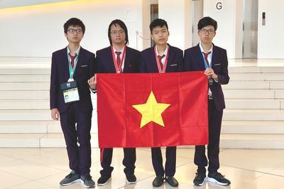 Việt Nam giành 2 huy chương Vàng Olympic Tin học quốc tế năm 2019