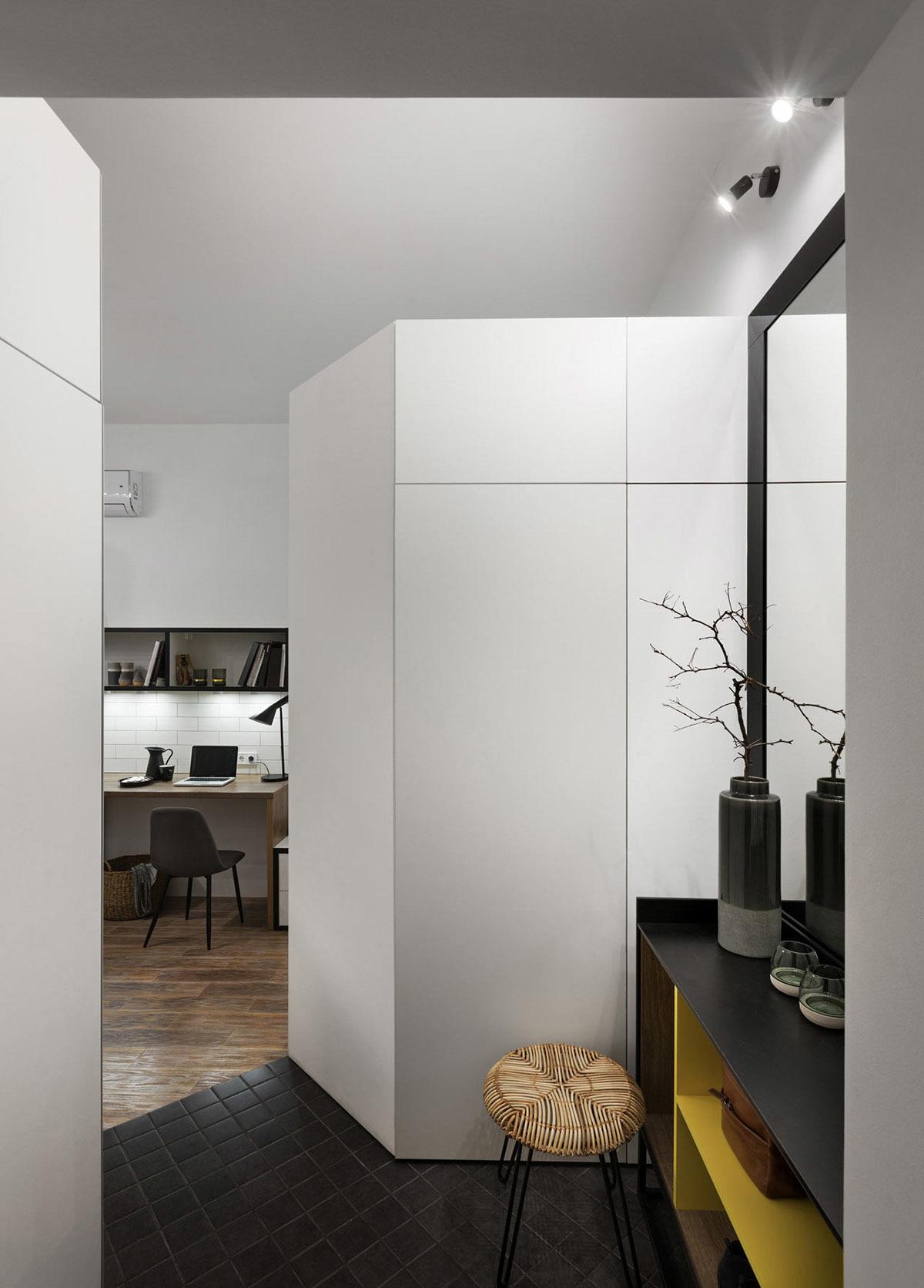 Ngỡ ngàng căn hộ 17m2 thiết kế tiện nghi cực chất