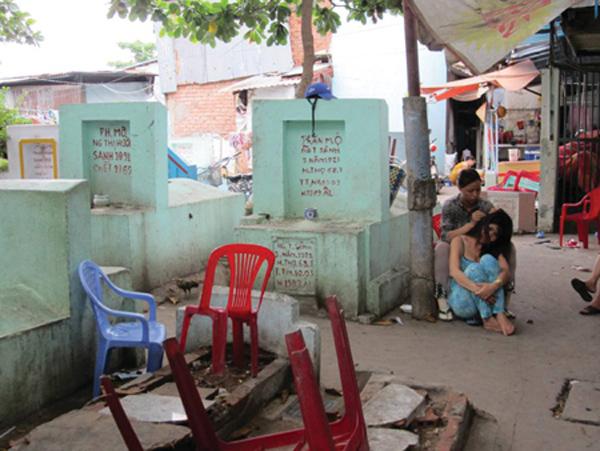 Xóm Gò Mả,Cuộc sống Sài Gòn