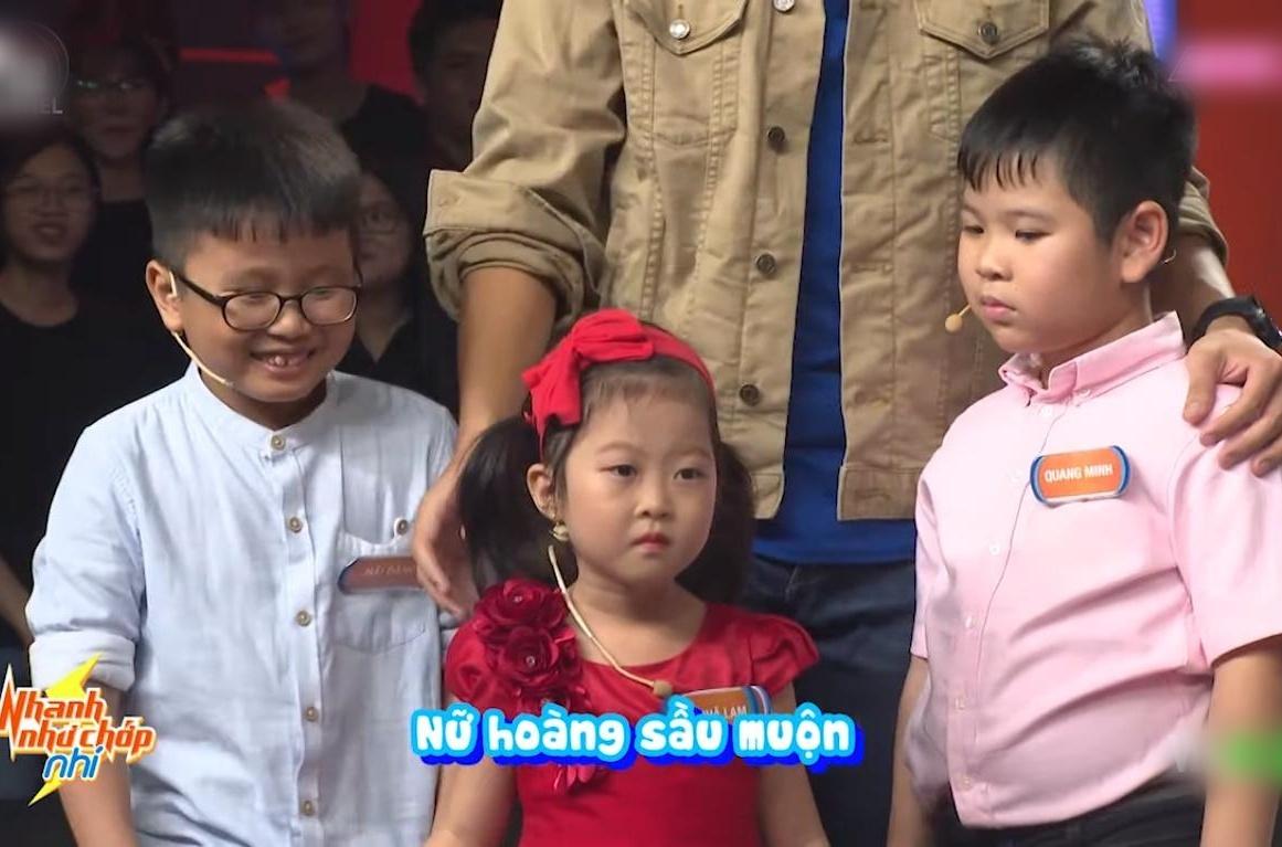 Nhanh như chớp nhí,Trấn Thành,Hoàng Oanh,Quang Bảo