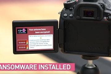Máy ảnh DSLR cũng lây nhiễm mã độc tống tiền