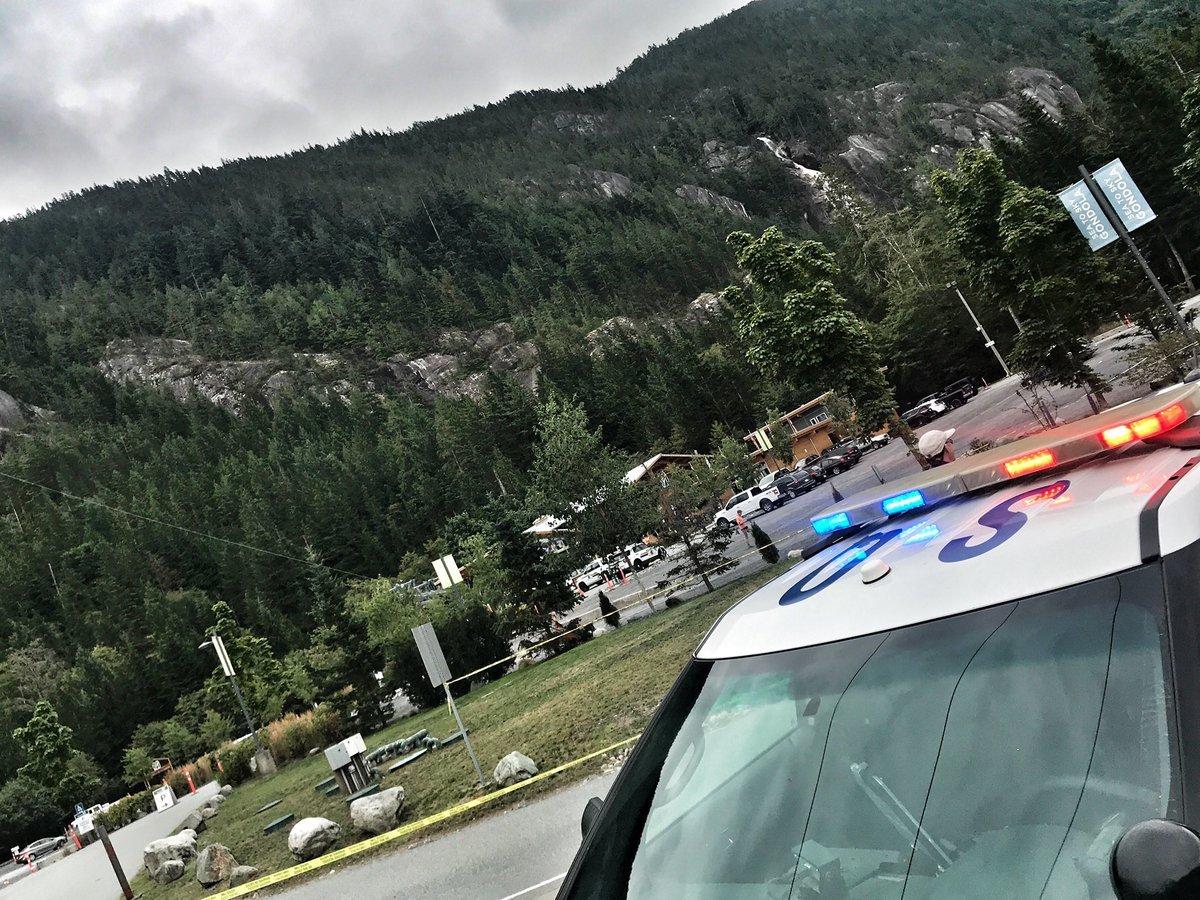 Canada,Vancouver,cáp treo,phá hoại,hiện trường,cảnh sát