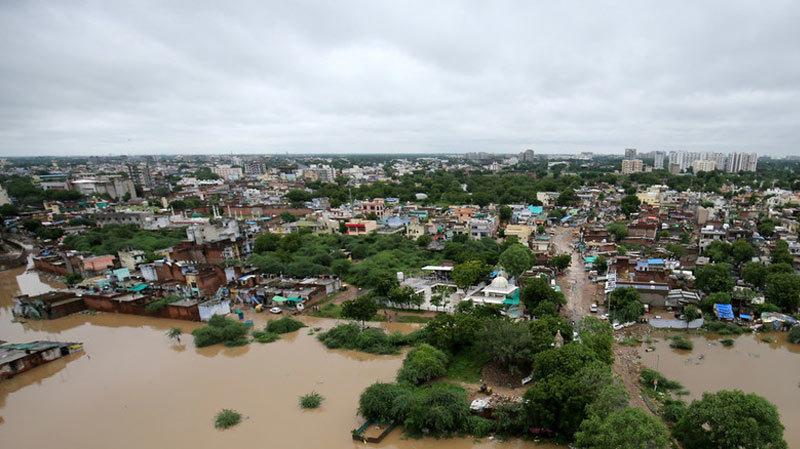 Ấn Độ,lụt lội,lở đất