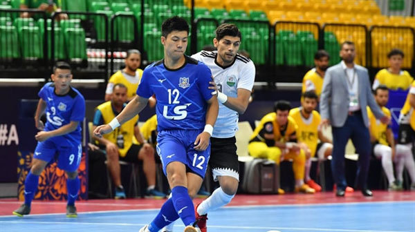 Thai Son Nam top Group B in int'l futsal event, advance to quarters