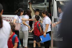 Đề xuất bổ sung quy định về xe đưa đón học sinh