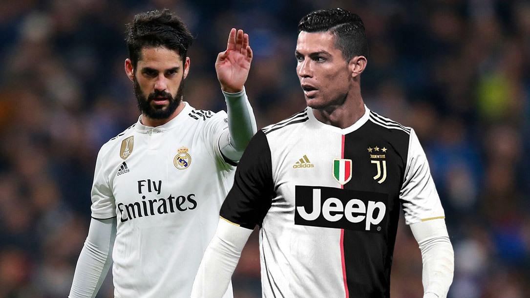 Cristiano Ronaldo,Ronaldo,Isco,Juventus,Real Madrid