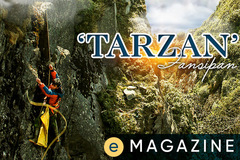 Gặp 'Tarzan' trên đỉnh trời Tây Bắc