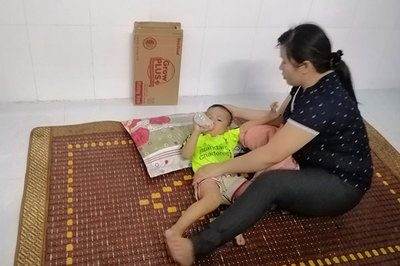 Bé trai 2 tuổi mất một con mắt, tính mạng nguy kịch