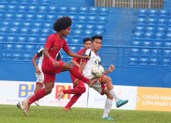 U18 Indonesia,U18 Lào,U18 Đông Nam Á 2019