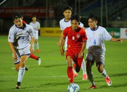 U18 Myanmar,U18 Brunei,U18 Đông Nam Á 2019