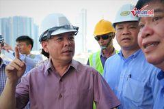 Bộ trưởng Nguyễn Văn Thể hứa sửa mặt cầu Thăng Long ổn định 7-10 năm