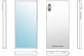 LG phát triển smartphone màn hình gập 3, không cổng kết nối
