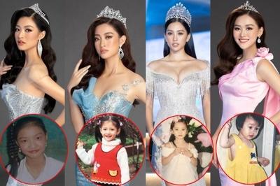Vẻ đáng yêu thuở nhỏ của dàn Hoa hậu, Á hậu Việt Nam