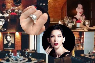 Xuân Lan tự tặng mình nhẫn kim cương nhân sinh nhật