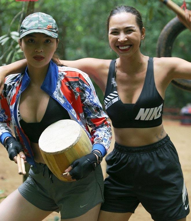 Kỳ Duyên, Minh Triệu cùng dàn người đẹp đua nhau hở bạo trong Cuộc đua kỳ thú