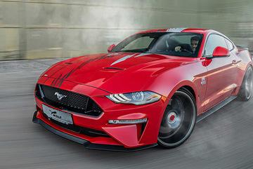 Ford Mustang được nâng cấp với gói độ mạnh như siêu xe