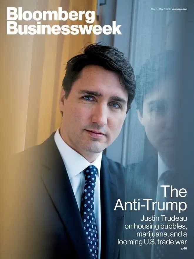 Ông Trump gửi bìa tạp chí xé nham nhở cho sứ quán Canada