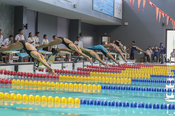 giải bơi lặn,Thanh Hóa
