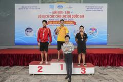 Sôi động giải bơi, lặn cấp quốc gia tranh cúp Sun Sport Complex 2019