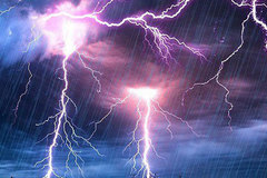 Three family members killed by lightning