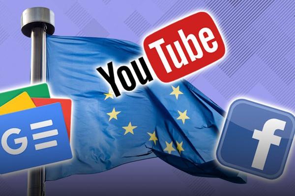 Facebook,YouTube,Google,Mạng xã hội