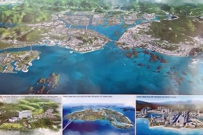 Điều chỉnh quy hoạch TP Hạ Long, khoanh vùng 4 cực hút nhà đầu tư