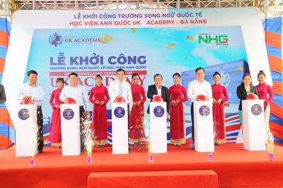 Tập đoàn Nguyễn Hoàng khởi công trường song ngữ liên cấp ở Đà Nẵng