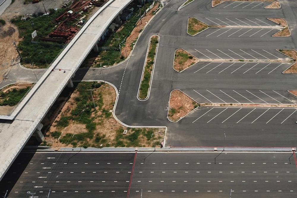 Diện mạo bến xe lớn nhất ở Sài Gòn nhìn từ flycam