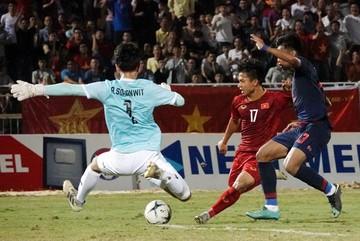 Bất lực trước Thái Lan, U18 Việt Nam thấp thỏm vé bán kết