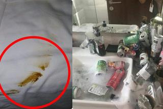 Khách trả phòng khách sạn, dấu vết để lại trên giường khiến nhân viên suýt khóc