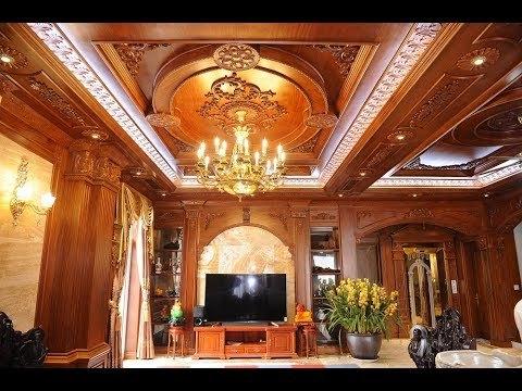 Choáng ngợp biệt thự siêu sang nội thất dát gỗ nghìn tỷ