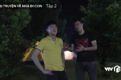 'Về nhà đi con ngoại truyện' tập 2, Vũ rủ Quốc đi bắt quả tang Thư qua đêm với bồ