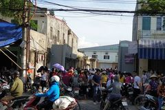 Hai Phong: Workers abandoned by Taiwanese boss