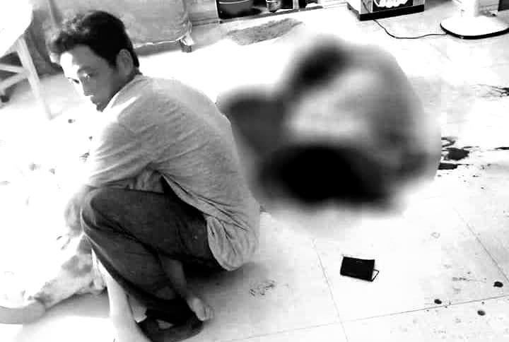 Khởi tố gã chồng cắt cổ vợ mới sinh con rồi tự tử bất thành ở Quảng Nam