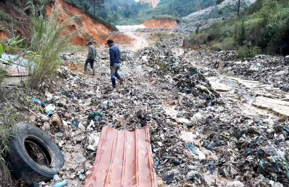 bãi rác Cam Ly,ô nhiễm môi trường,Lâm Đồng