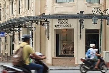 Post-merger stock exchange headquarters in Ha Noi
