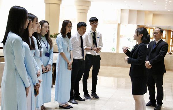 khoa du lịch,ngành Quản trị khách sạn