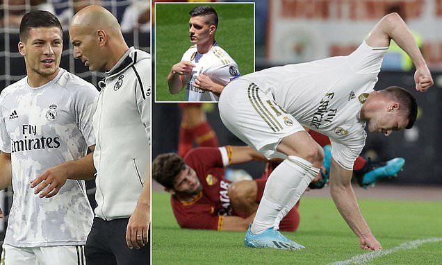 Zidane,Luka Jovic,Real Madrid