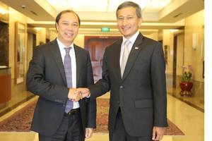 Singapore nêu lập trường Biển Đông giải quyết tranh chấp bằng luật quốc tế
