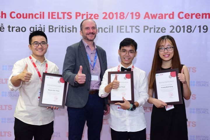 Winners of British Council's IELTS Prize announced